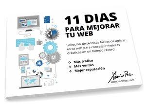 Ebook: 11 días para mejorar tu web